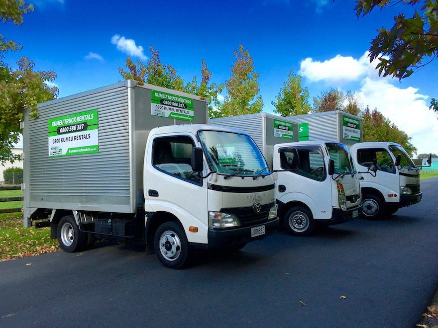 Late Model Rental Trucks