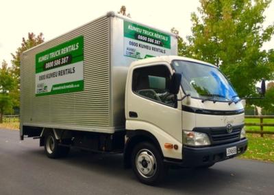 Large Box Truck 20m3-4